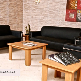 BOARD OFFICE LEATHER SOFA