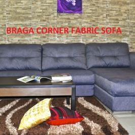 BRAGA CORNER FABRIC SOFA