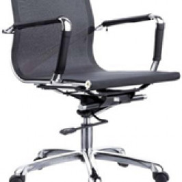 MEDIUM BACK SWIVEL CHAIR #QC-1242H