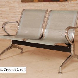 ROW METALLIC CHAIR #2-IN-1