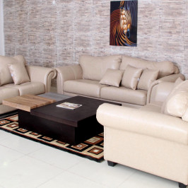 ELISSA LEATHER SOFA