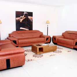 LAVA LEATHER SOFA