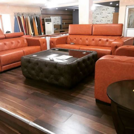 NATOZI LEATHER SOFA