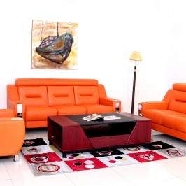OVIEDO LEATHER SOFA