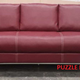 PUZZLE LEATHER SOFA