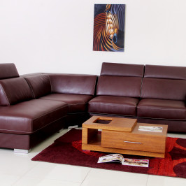 SKYE CORNER LEATHER SOFA