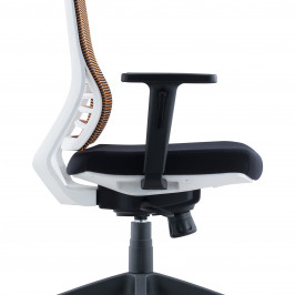 MEDIUM BACK SWIVEL CHAIR #D8009W-NL09A-L01