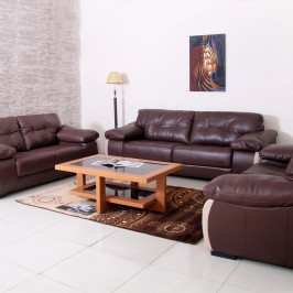 NAPOLI LEATHER SOFA