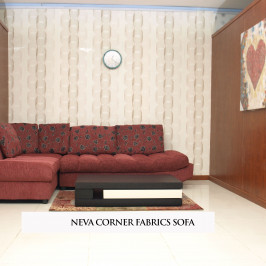 NEVA CORNER FABRIC SOFA
