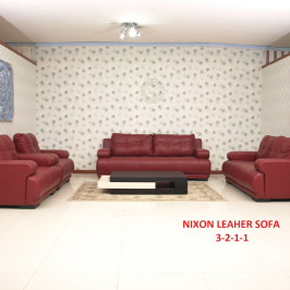 NIXON LEATHER SOFA