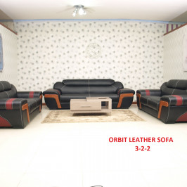 ORBIT LEATHER SOFA