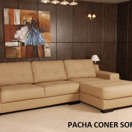 PACHA CORNER LEATHER SOFA?