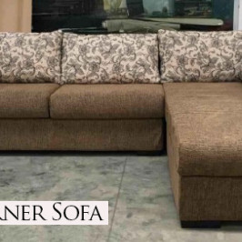 RIVA CORNER FABRIC SOFA