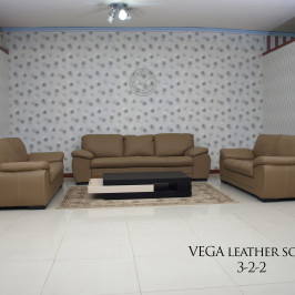 VEGA LEATHER SOFA