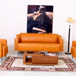 VELLA LEATHER SOFA