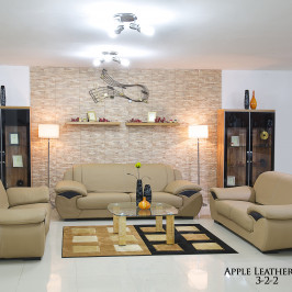 APPLE LEATHER SOFA