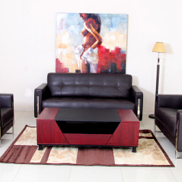 HOBY LEATHER SOFA