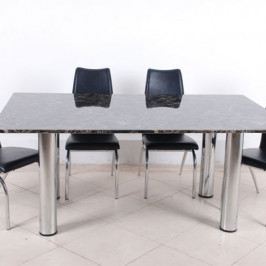 RECTANGULAR MARBLE DINING TABLE